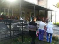 Проведение тренировки по эвакуации