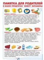 Рекомендации для родителей по вопросам питания