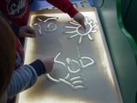 «Планшет для рисования  песком с набором инструментов в пенале»